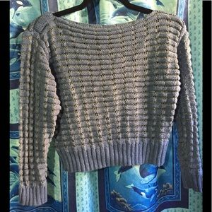 🔥5/$25- Knit Crop sweater Sz M